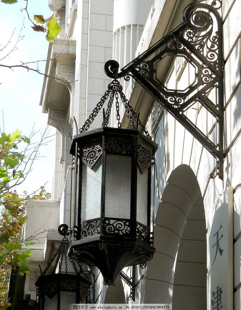 欧式灯具图片_建筑摄影