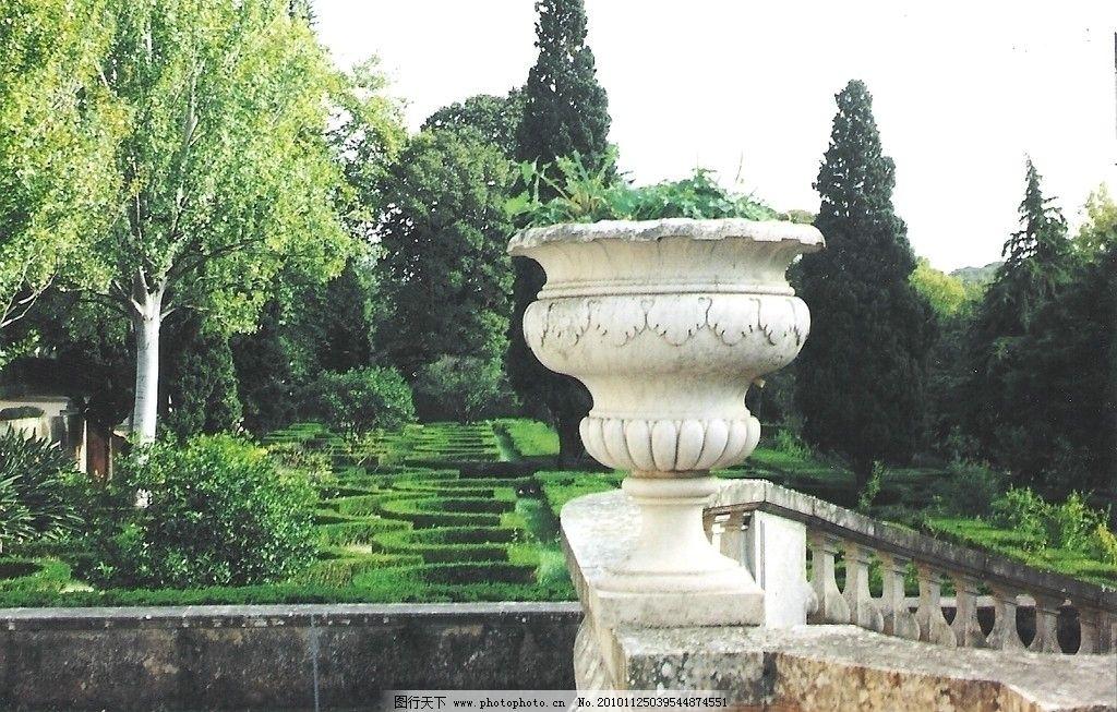 花坛 欧式花坛 园林 园林建筑