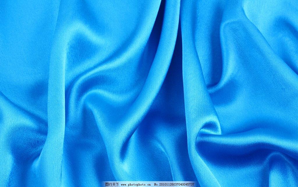 欧式绒布刺绣窗帘蓝色