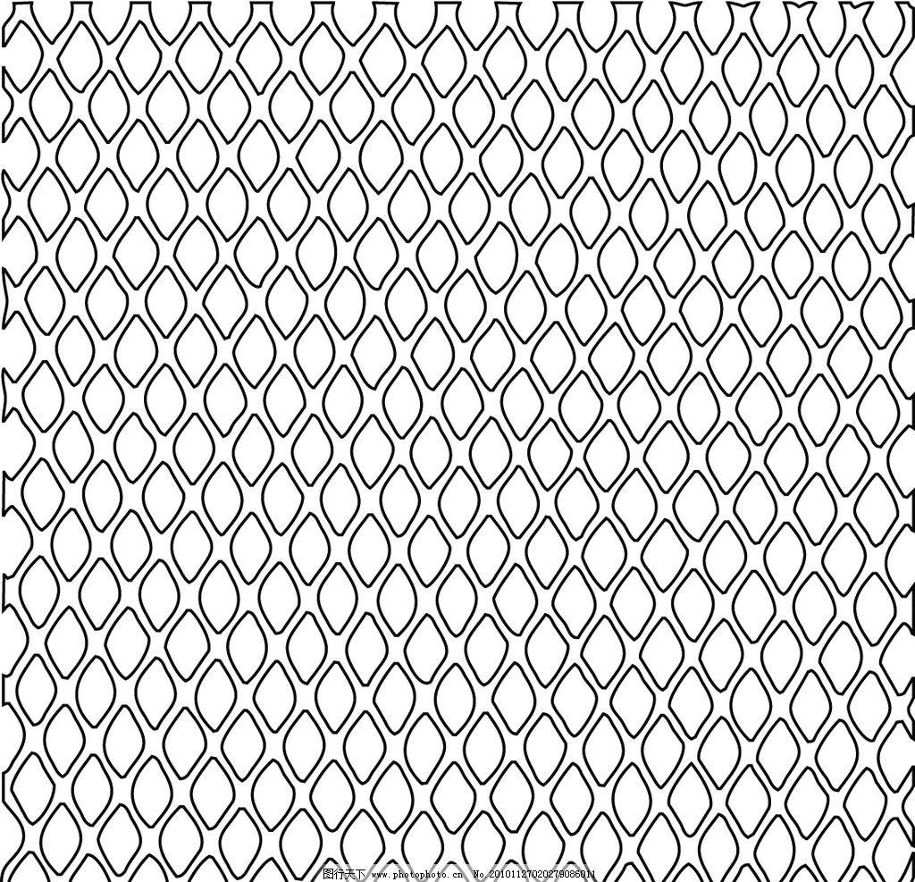 矢量 潮流 背景 漂亮 好看 酷 艺术 经典 黑白 底纹背景 底纹边框 eps