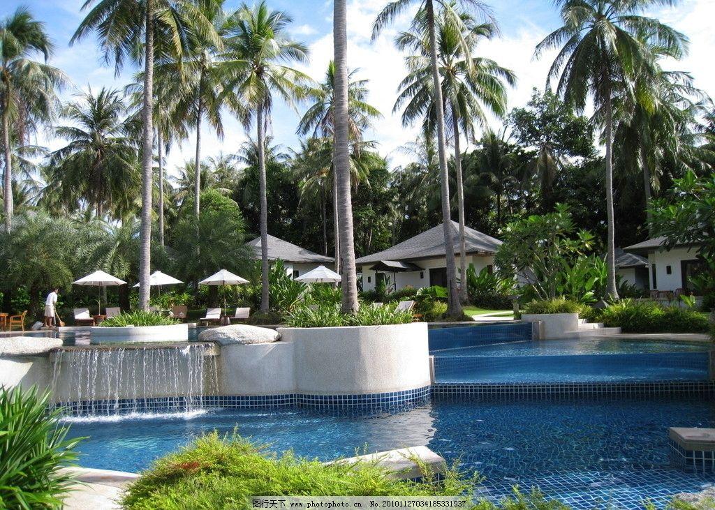 泰国酒店风景图片