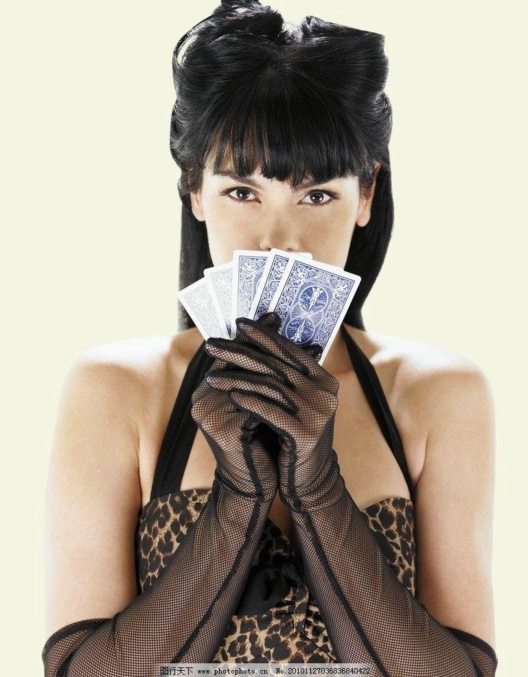 美女扑克牌小游戏