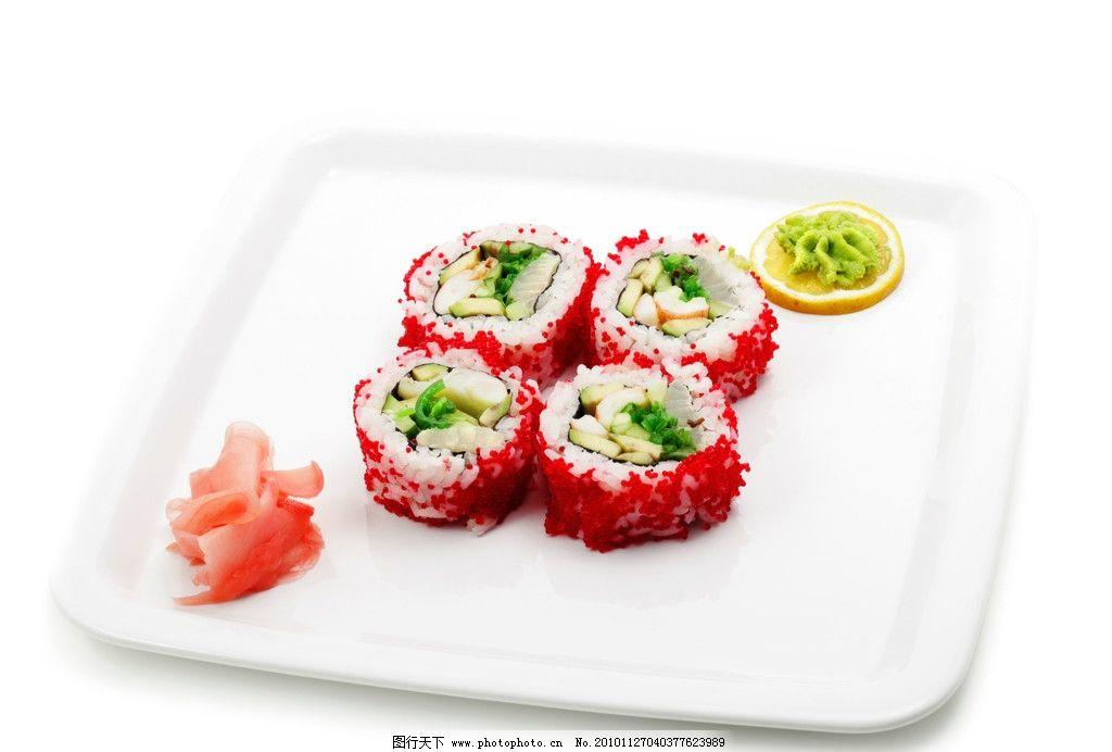 寿司 寿司拼盘 日本寿司 海鲜 紫菜 美食 饭团 芥末 春卷 寿司集合