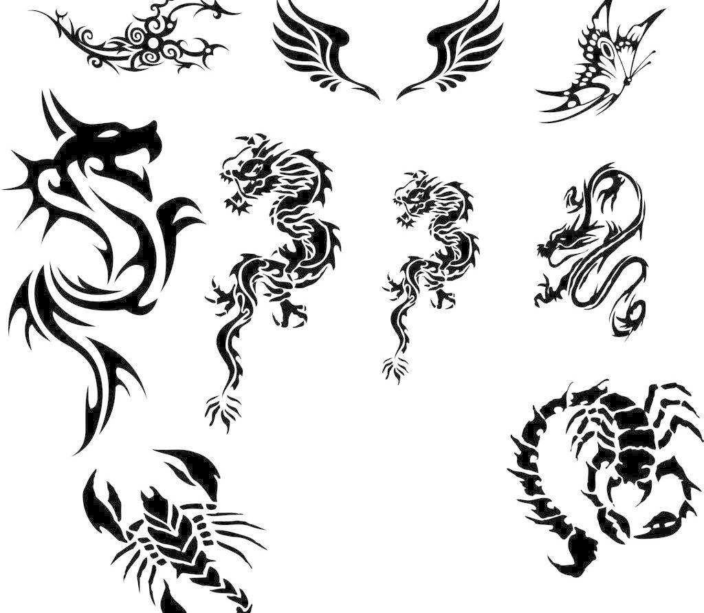 纹身的素材图样-纹身的素材