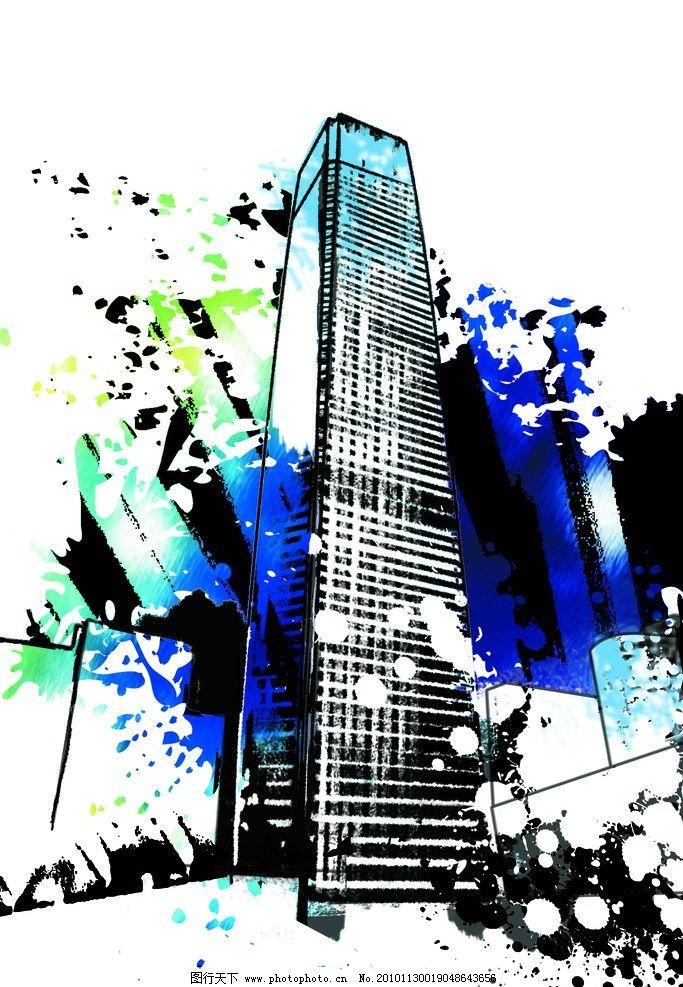 国贸 手绘 国贸三期 大厦 手绘国贸三期 绘画书法 文化艺术 设计 300
