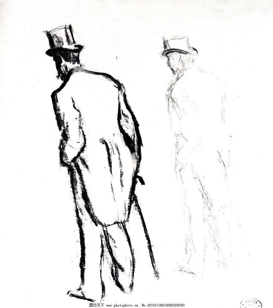 全身人像 人体素描 素描头像 法国画家 格勒兹 经典素描 头像素描 素描 头像 肖像 人物 老外 线描 线稿 线条 人头像 大师作品 大师范画 范画 阿尼格尼 男人 帽子 拐杖 西装 服装 绘画书法 文化艺术 设计 300DPI JPG