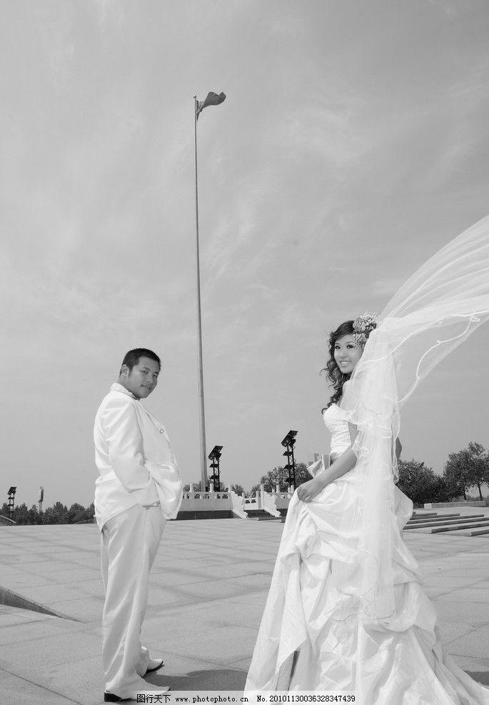 婚纱照 白纱 礼服 新郎 新娘 人物摄影 人物图库 摄影 72dpi jpg