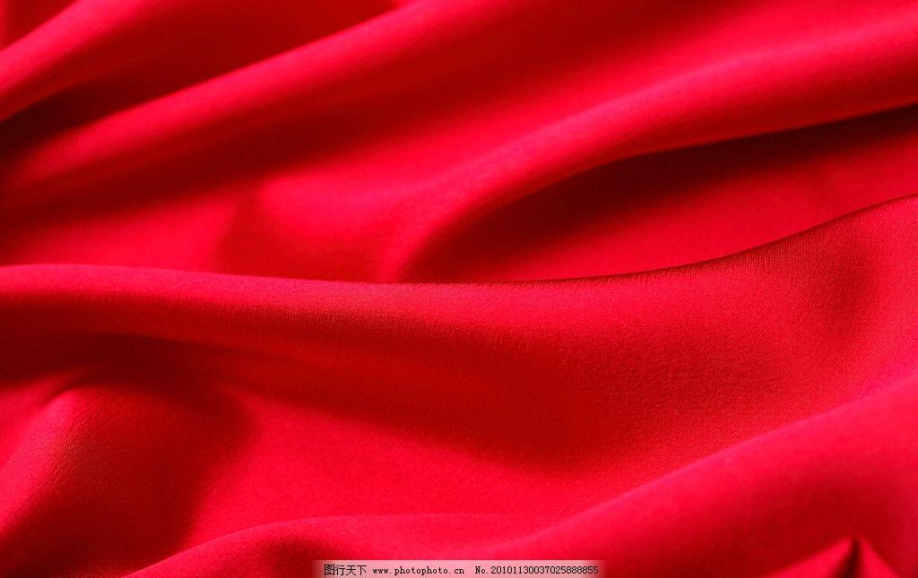 丝绸布料高清 红色绸缎 丝滑 顺滑 柔滑 褶皱 纹理 材质 质感