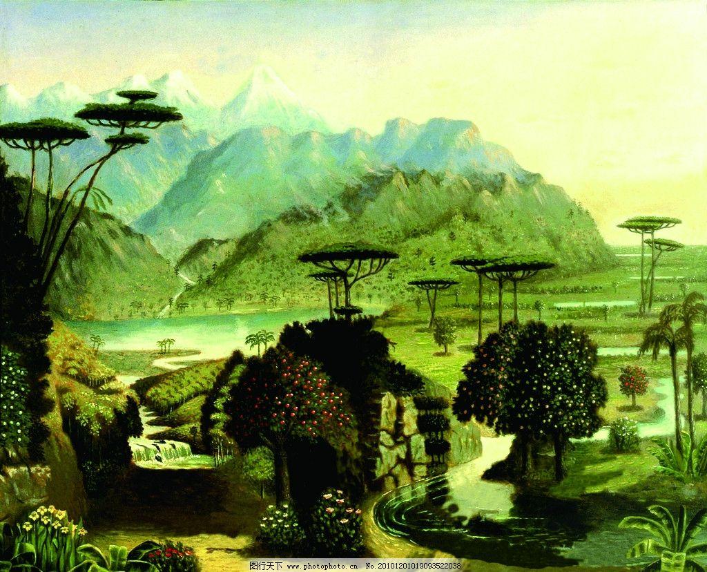 西方风景图片