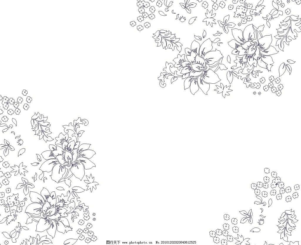 花卉图片_其他_底纹边框