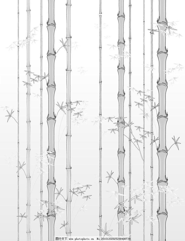 节节高竹子图片_树木树叶_生物世界_图行天下图库