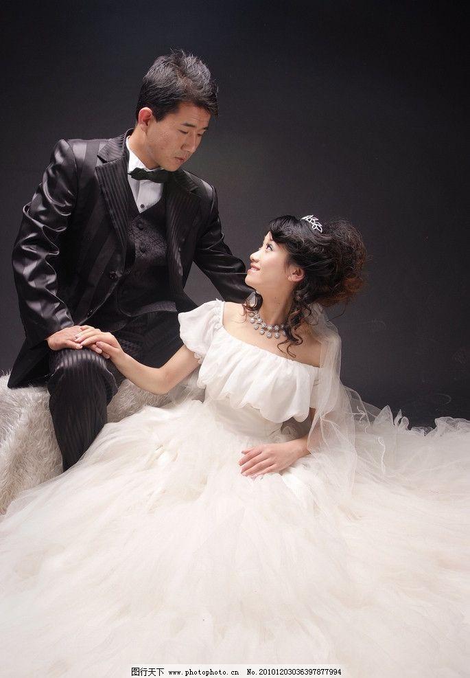 婚纱照 礼服 女人 美女 新娘 帅哥 新郎 人物摄影 人物图库 摄影 72