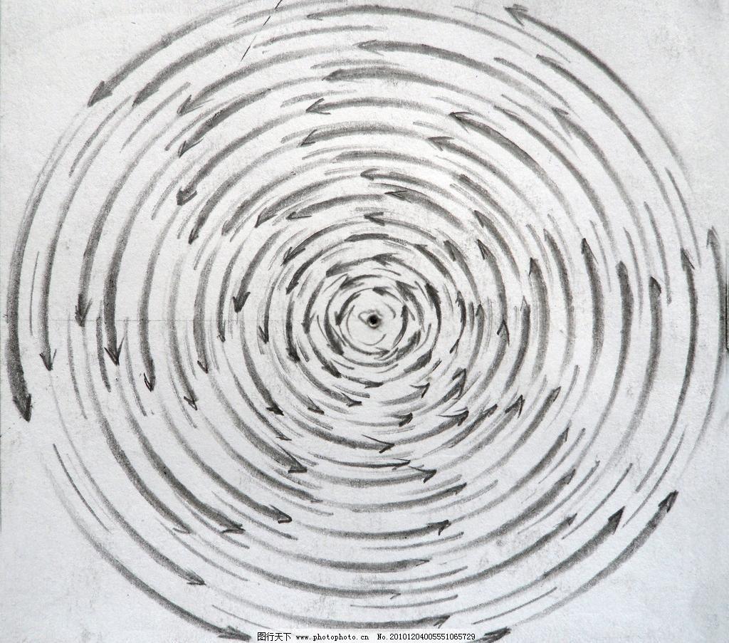 箭头构成设计素材 箭头构成模板下载 箭头构成 手绘 箭头 发散 圆