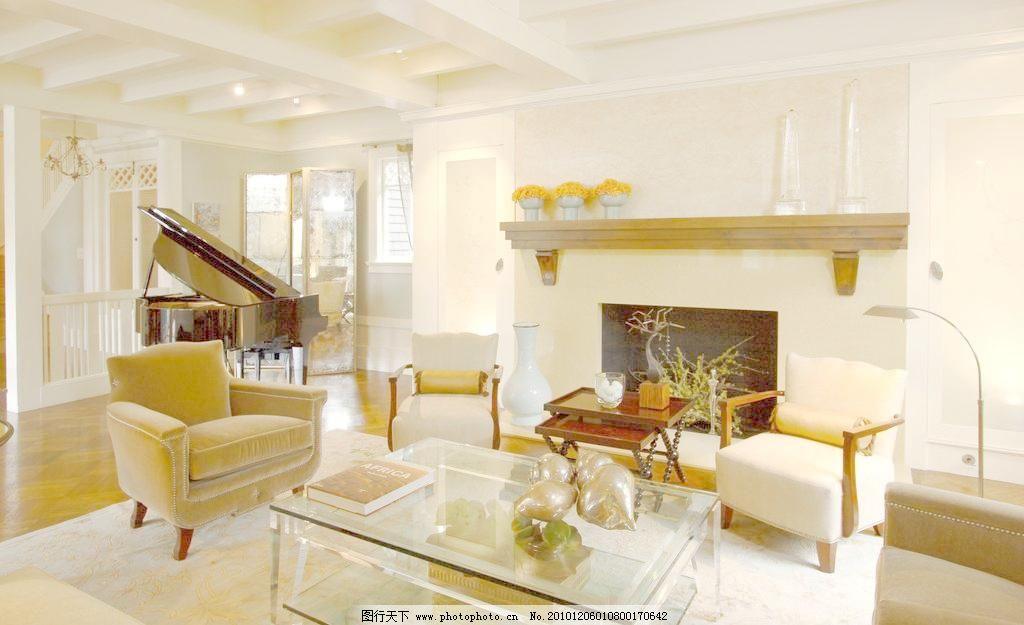 欧式客厅设计图片