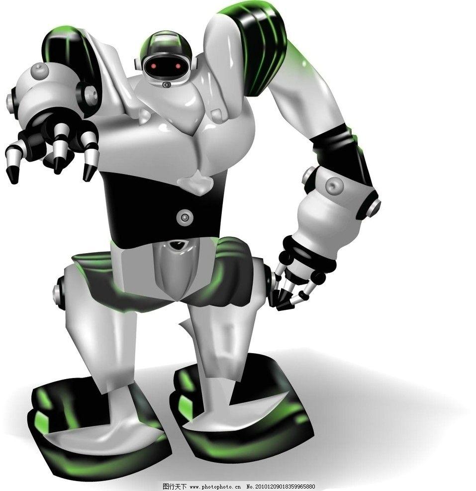 机器人 动漫人物 动漫动画 设计 72dpi jpg