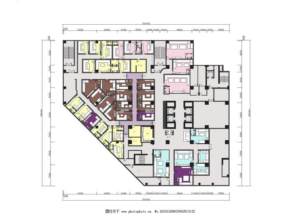 整体布局 大型方案 室内平面方案