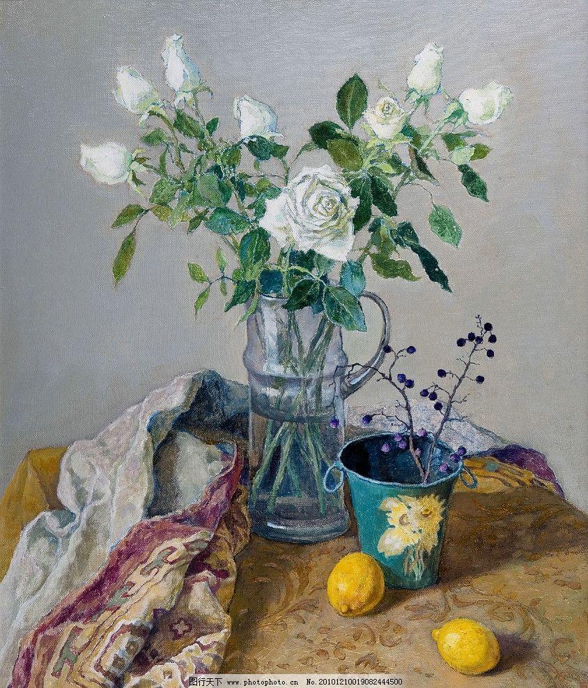 玫瑰 油画花卉 油画静物 油画创作 油画写生 油画 经典油画 绘画书法