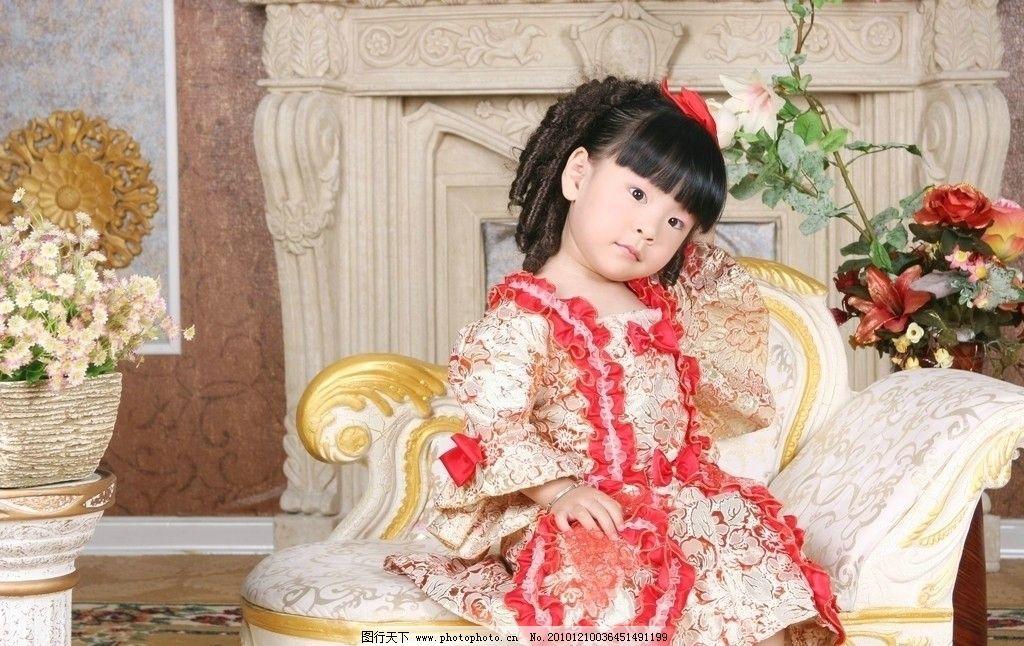 美丽 小公主图片,小女孩 长相漂亮 纯真可爱 柳条卷