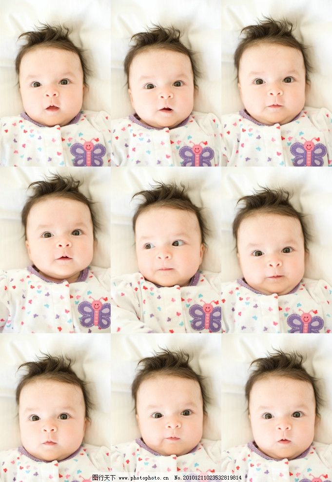 外国宝宝(可爱表情) 外国 宝宝 男宝宝 幼儿 金黄头发 自然卷曲 白嫩