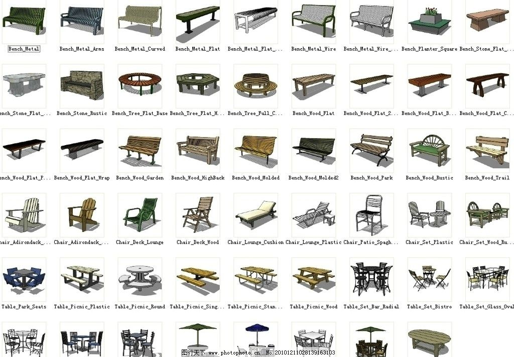 桌椅凳子 psd 分层 源文件 原创 设计 室内 桌椅 配景 装饰 草图大师