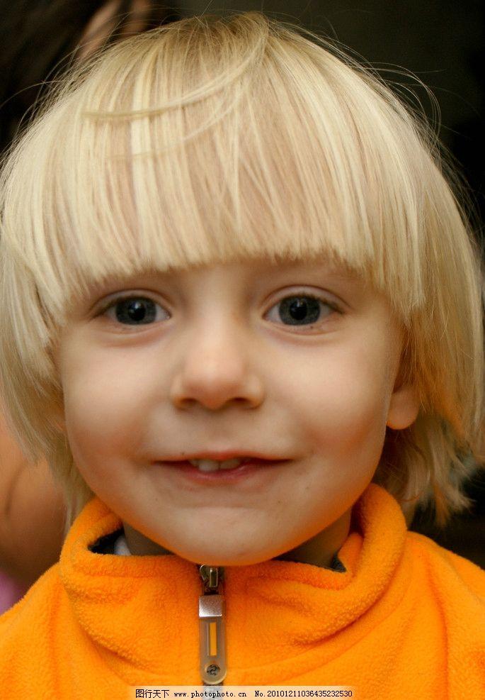 德国 小女孩 外国儿童 小姑娘 学前女童 金发碧眼 高鼻梁 形美小嘴