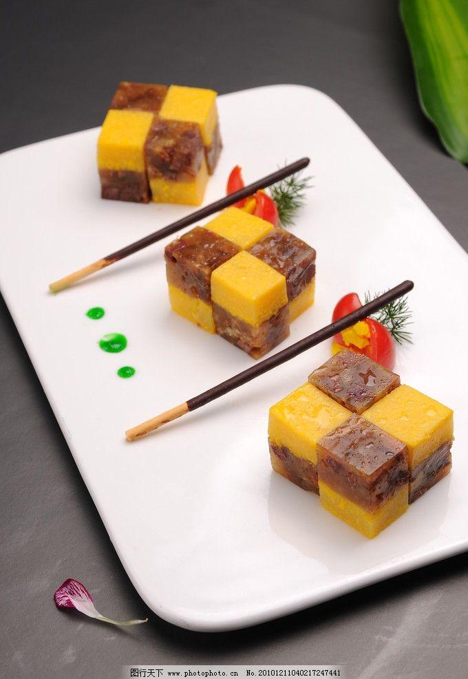 凉菜牛立方图片