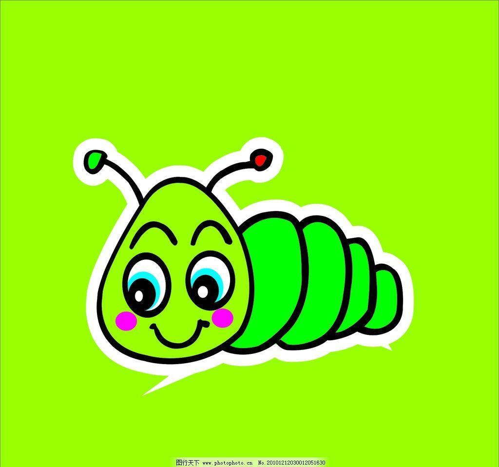 虫子图片简笔画步骤