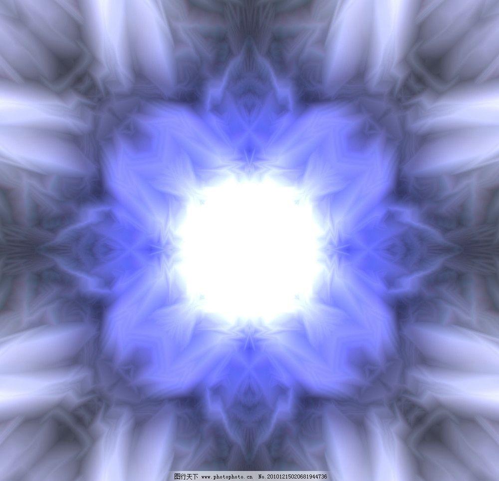 幻想蓝色简洁边框