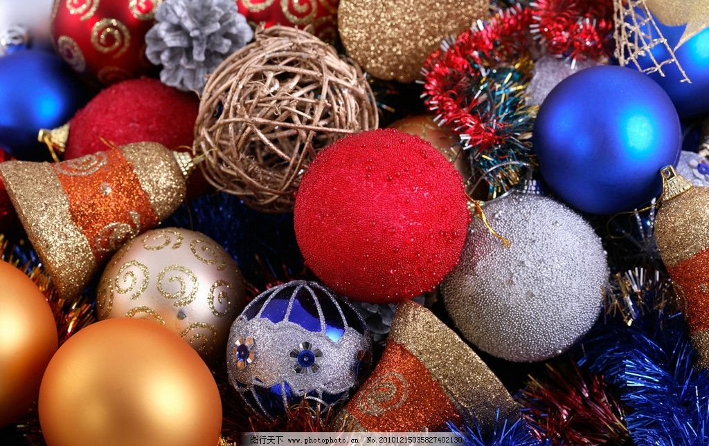 圣诞节图片_树木树叶_生物世界_图行天下图库