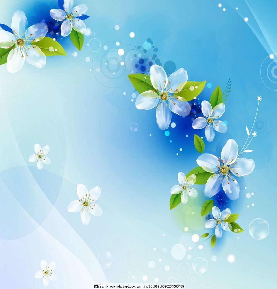 移门 梦幻 花朵 花卉 花纹 线条 彩绘 韩国 手绘 背景底纹 底纹边框