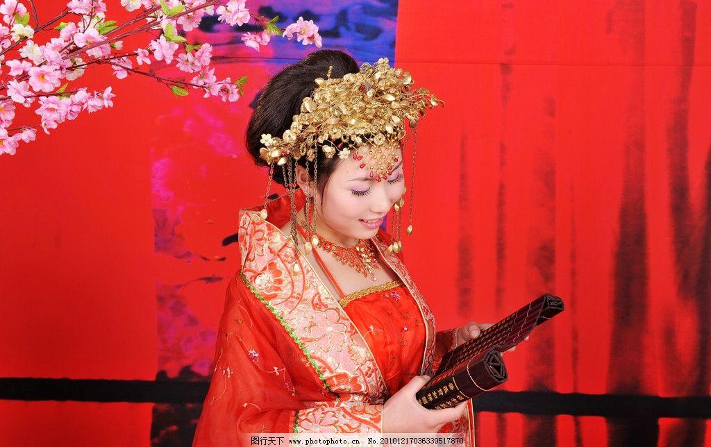 婚纱摄影 古装摄影 结婚照 人物摄影 人物图库 摄影 300dpi jpg