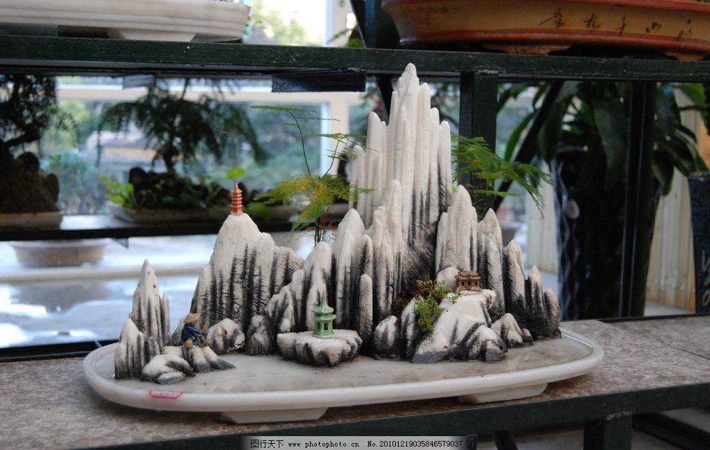 山石盆景 盆景 枯山水 微型盆景 盆景世界 树木树叶 生物世界 摄影