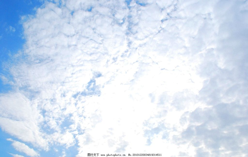 南昌的郊外天空 天空 蓝天 白云 南昌 冷色 自然风景 自然景观 摄影 3