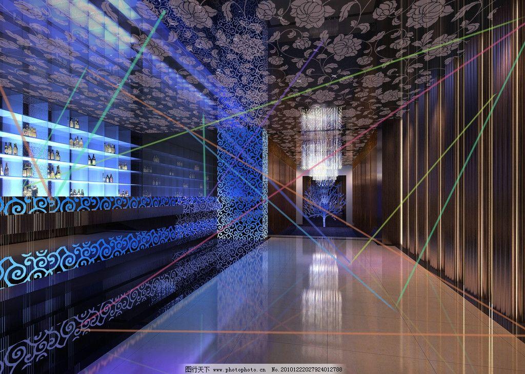 吧台 室内 灯光效果 前台 过道 室内设计 环境设计 设计 72dpi jpg