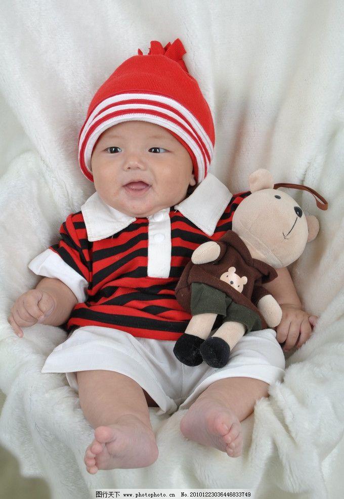 可爱宝宝 幼儿 小男孩 儿童幼儿 人物图库 摄影 300dpi jpg