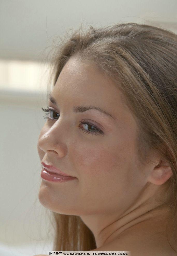 高清美人头 高清美人 高清 美人头 微笑 可爱 诱人 人物摄影 人物图库