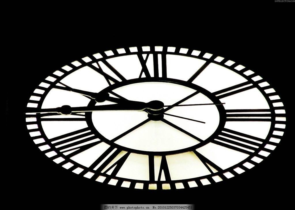 欧式钟表 钟 表 生活素材