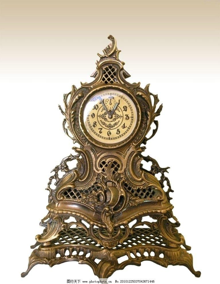 钟表 欧式钟表 钟 生活素材 生活百科 摄影 100dpi jpg