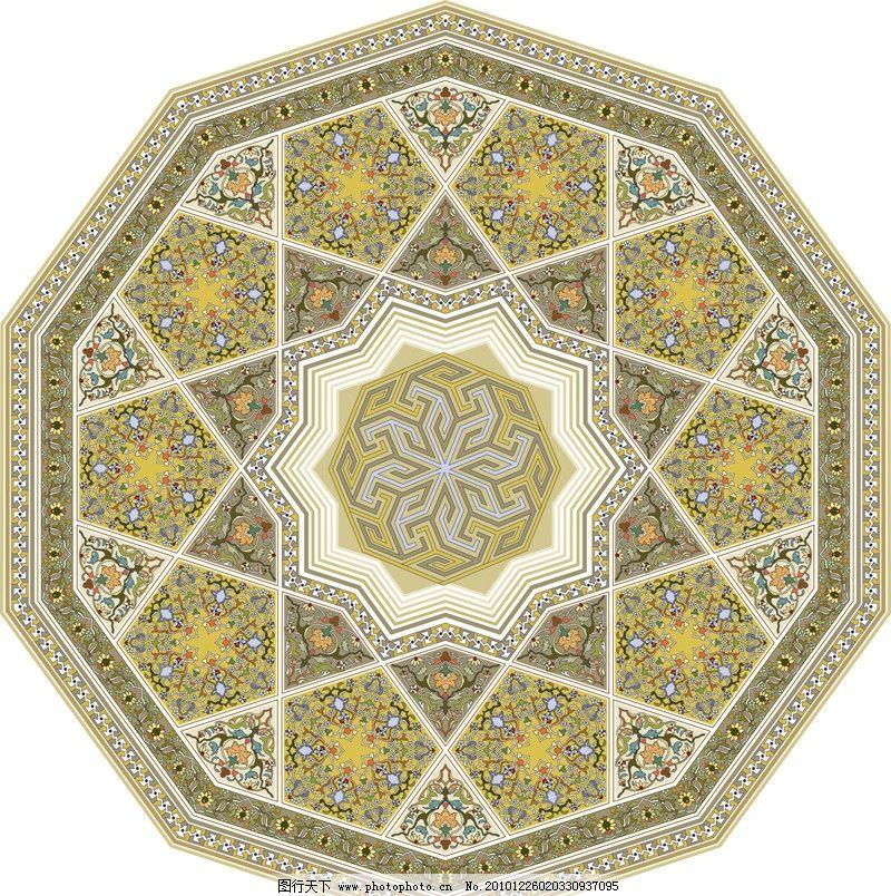 圆形花纹 圆形 花纹 欧洲 欧式 精美 花边 花框 背景 时尚 边框 移门