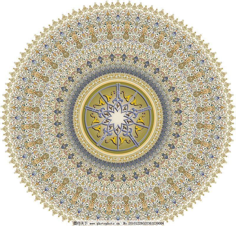 圆形花纹 圆形 花纹 欧洲 欧式 精美 花边 花框 背景 时尚 边框 移门图片