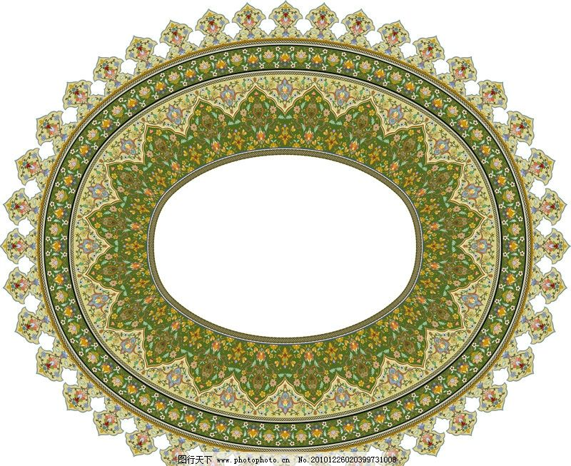 设计图库 现代科技 建材  圆形花纹 圆形 花纹 欧洲 欧式 精美 花边