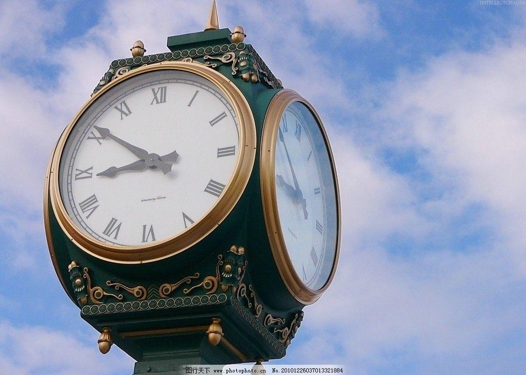 欧式钟表图片