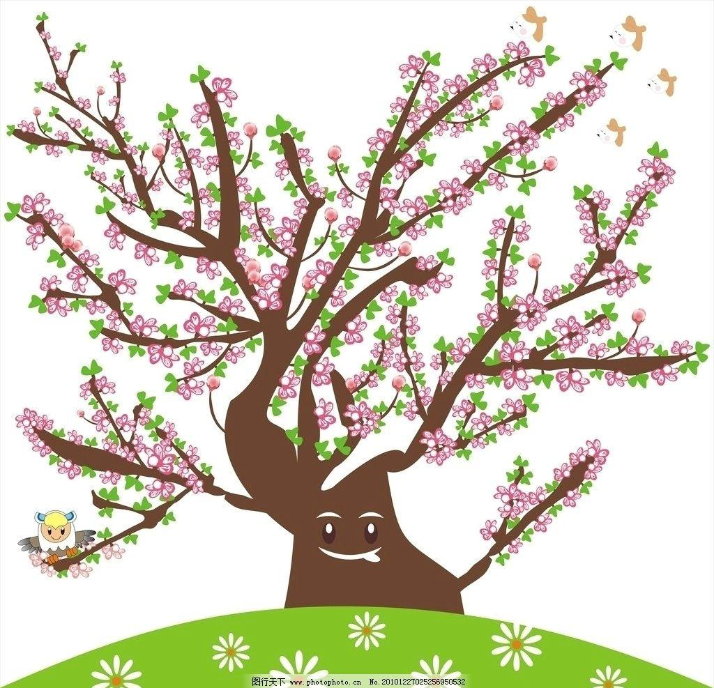 桃花树素描画法步骤