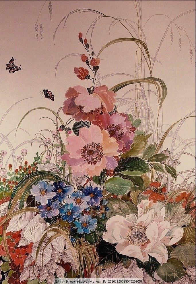 手绘花朵高清图片