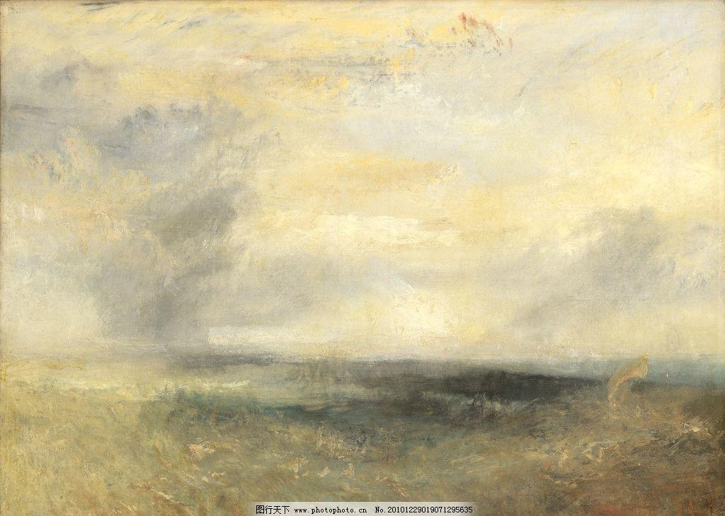 欧洲风景油画图片