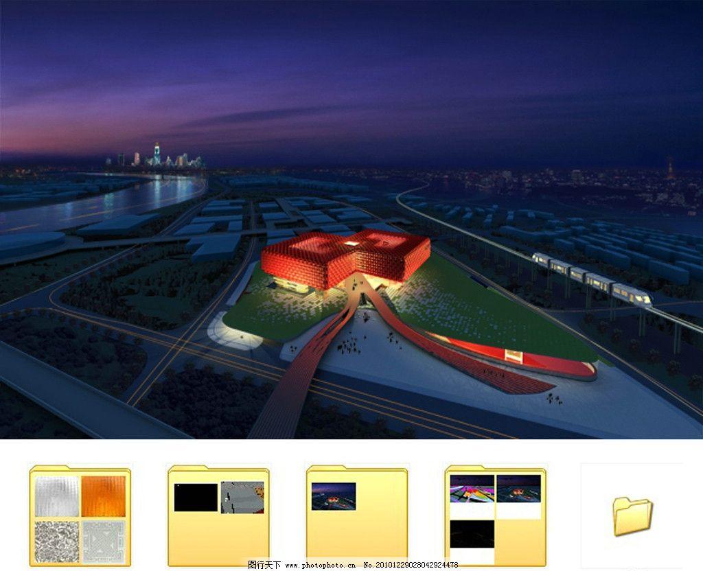 建筑效果图图片图片