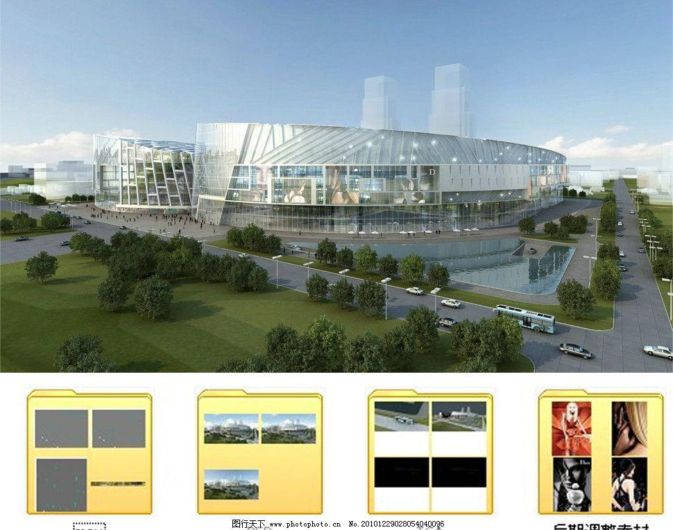 场馆设计 美术馆设计 博物馆设计 博物馆 展馆 展馆设计 展厅 鸟瞰图片