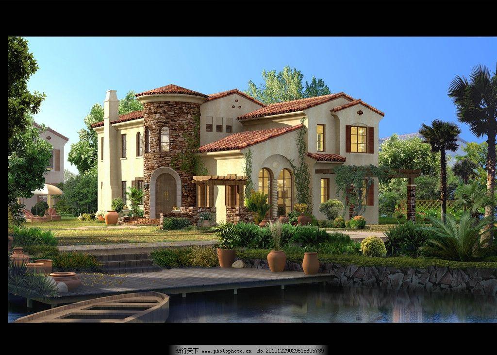 地中海别墅图片