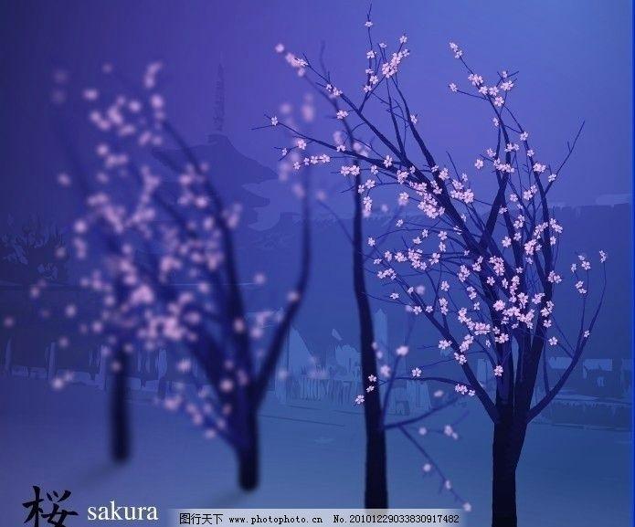 梅花树生长动画