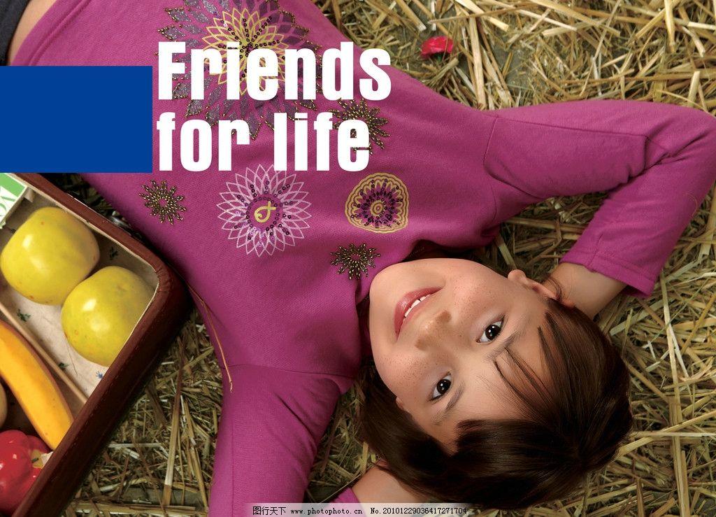 儿童服装模特 阳光女孩 毛衣 苹果 招贴海报背景 地贴图 儿童幼儿